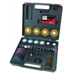 Ingersoll-Rand - 23A-VAR-GR - Die Grinder Accessory Kit, 50 Pc, w/Case