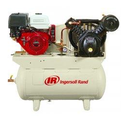 "Ingersoll-Rand - 2475F13GH - 30 gal. 40"" x 45"" x 22"" Stationary Air Compressor&#x3b; Fuel Type: Gasoline"