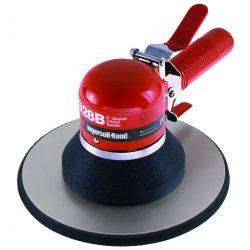 Ingersoll-Rand - 328B - Air Dual-Action Sander with 8 Pad Size, Vacuum, 5/32 Orbit Dia.