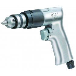 "Ingersoll-Rand - 7802A - 0.5 HP General Duty Keyed Air Drill, Pistol Style, 3/8"" Chuck Size"