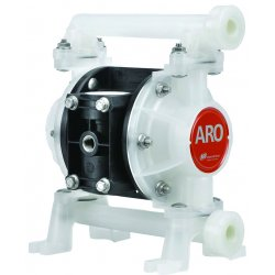 Ingersoll-Rand - PD03P-ARS-STT - ARO Pumps PD03P-ARS-STT Diaphragm Pump, 3/8 Non-Metallic