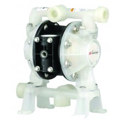 Ingersoll-Rand - PD05P-ARS-PTT-B - Polypropylene PTFE Multiport Double Diaphragm Pump, 14 gpm, 100 psi