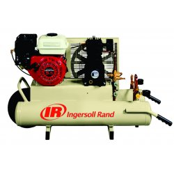 Ingersoll-Rand - SS3J55GH-WB - Ingersoll-Rand SS3J55GH-WB 5.5 Hp Gas Engine 8-Gal Twin Tank Wheelbarrow (11.8 CFM's)