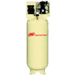 Ingersoll-Rand - SS3L3 - 1 Phase Vertical Tank Mounted 3HP Electric Air Compressor, 60 gal., 135 psi