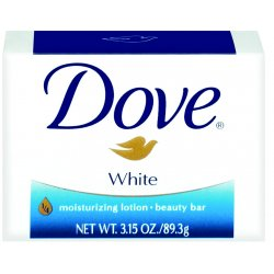Johnson Diversey - CB614243 - 3.15 Oz Dove Bar White Reg (retail Pack)