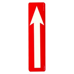 Jessup - EG-7520-F-114-RN - Peel And Stick Eg Sign Yellow/bl; Red Background