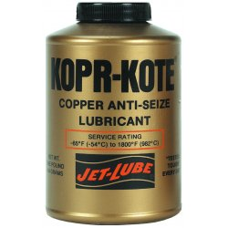 Jet-Lube - 10004 - Anti Seize Compound, 16 oz. Container Size, 16 oz. Net Weight