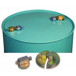 Justrite - 08510 - Justrite 2' Steel Drum Lock Set With (2) Padlocks (For 55 Gallon Steel Drum Bungs), ( Each )