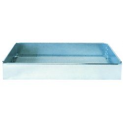 "Justrite - 27003 - Justrite 13"" X 4"" X 16"" 26 Gauge Coated Steel Basket (For Models 27220 And 27322 Rinse Tanks)"