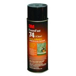 3M - 021200-50045 - 3m Foamfast 74 Spray Adhesive 24 Oz Clear, Ea