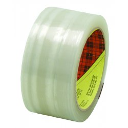 3M - 405-021200-72368 - Scotch 373 High Performance Box Sealing Tape, Clear, 48mm x 50m