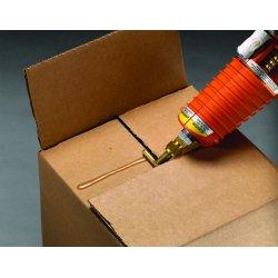 """3M - 021200-82615 - 3m Jet Melt Brand Adhesive 3762tc Tan 5/8x2"""", Ea"""