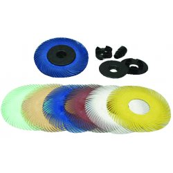 3M - 048011-27605 - 3m 048011-27605 6x12 Radial Bristle Brsh 50 Grit