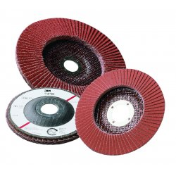 "3M - 051111-49608 - 3m Abrasive Flap Disc 747d 7"" X 7/8"" 36x Weight, Ea"