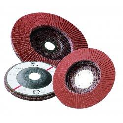 """3M - 051111-49617 - 3m Abrasive Flap Disc 747d 4-1/2""""x7/8"""" P120, Ea"""