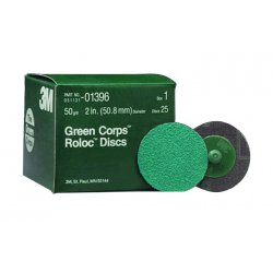 3M - DISC0139650 - 3m 051131- 01396 Greenrolox Disc 50 Grit