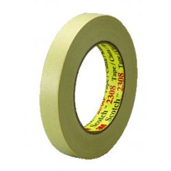 3M - 405-051131-06548 - Scotch Masking Tape 230848mm X 55m, Ea