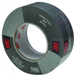 3M - 051131-06976 - Duck Tape 3900 Silver 48mm X 54.8m 7.7mil