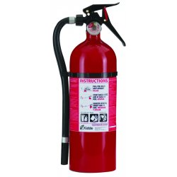 Kidde Fire and Safety - 21006204 - Service Lite Multi-Purpose Dry Chemical Fire Extinguishers - ABC Type (Each)
