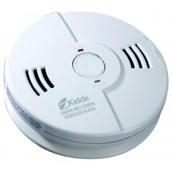 Kidde Fire and Safety - 21006377 - Kidde AC/DC CO/Smoke Combo Alarm (Ionization)