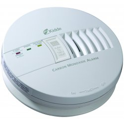 Kidde Fire and Safety - 21006406 - Carbon Monoxide Alarm-ionization-120vac