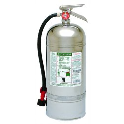 Kidde Fire and Safety - 25074 - Wet Chemical Fire Extinguisher with 12.68 lb. Capacity and 55 to 60 sec. Discharge Time