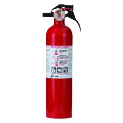 Kidde Fire and Safety - 466142 - FC110 - 1-A: 10-B:C Rating, 2.5# with Nylon Strap Bracket