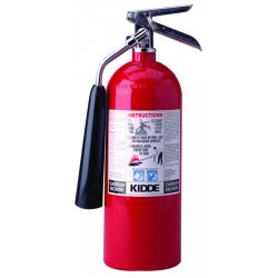 Kidde Fire and Safety - 466181 - PRO10CD - 10-B:C, 10# with Wall Hook, Rechargeable