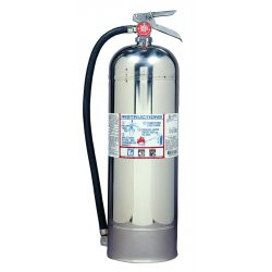 Kidde Fire and Safety - 466403 - ProPlus 2.5 W H2O Fire Extinguisher, 2.5gal, 20.86lb, 2-A