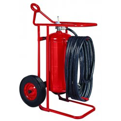Kidde Fire and Safety - 466504 - Wheeled Extinguisher Abc Kidde 46.25 In Hx23 In Wx28.75 Dia 50 Ansi, EA