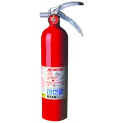 Kidde Fire and Safety - 468000 - Fire Extinguisher Abc Kidde 14.88 In Hx5.5 In Wx3 In Dia 2.5 Pound Ansi, EA