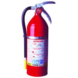 Kidde Fire and Safety - 468001 - Fire Extinguisher Abc Kidde 15.25 In Hx7.25 In Wx4.25 In Dia 5 Pound Ansi, EA