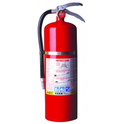 Kidde Fire and Safety - 468002 - Fire Extinguisher Abc Kidde 19.13 In Hx8.13 In Wx5.25 In Dia 10 Pound Ansi, EA