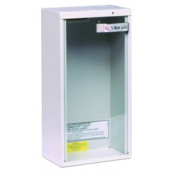 Kidde Fire and Safety - 468041 - Fire Extinguisher Cabinet Surface 18 Hx9 Wx6 L White Kidde 5 Pound, EA