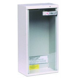Kidde Fire and Safety - 468042 - Fire Extinguisher Cabinet Surface 24 Hx9 Wx6 L White Kidde 10 Pound, EA