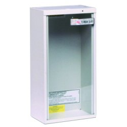 Kidde Fire and Safety - 468043 - 20lb Dry Or 2.5gal Watersurface Mount Cabinet