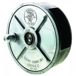 "Klein Tools - 27400 - Klein Tools 6 1/4"" X 2 25/32"" Silver Aluminum Alloy Tie Wire Reel"