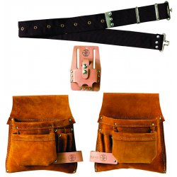 Klein Tools - 42244 - Klein 42244 Nail/Screw and Tool-Pouch Combination