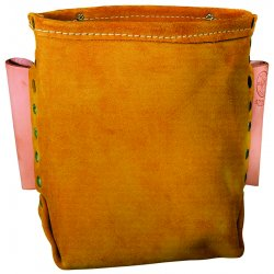 Klein Tools - 42247 - Klein Tools 5'' X 8 1/2'' Brown Leather Bolt Bag With 3' Tunnel Belt, ( Each )