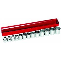 Klein Tools - 65506 - Klein 65506 13-Piece 3/8 Drive Socket Wrench Set, Metric