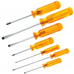 Klein Tools - 85276 - Klein 7-Piece Combination Screwdriver Set (85276)