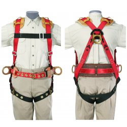 Klein Tools - 87832 - X-large Full Body Harness Ironworker 3 D-rings, Ea