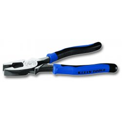 "Klein Tools - J2000-9NETP - Linemans Plier, 9-1/2"" Overall Length, Handle Type: Ergonomic"