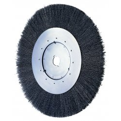 "Advance Brush - 80038 - 6"" Crimped Wire Wheel Narrow Face .006 Cs Wire"