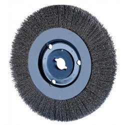 "Advance Brush - 80344 - 4"" Crimped Wire Wheel Narrow Face .006 Ss Wire"