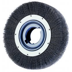 "Advance Brush - 81247 - 8"" Crimped Wire Wheel Wide Face .012"" Cs Wire"