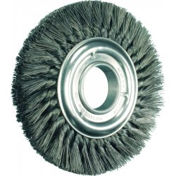 "Advance Brush - 82037 - 8"" Knot Wheel Brush Double Row .023 Cs Wire"
