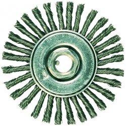 """Advance Brush - 82166P - P.o.p. 4"""" Full Cable Mini Knot Wheel .020 Cs Wir"""
