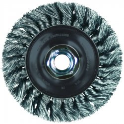 Advance Brush - 82194 - Whl Knot Str Bead Carbonsteel 4-1/2x.020x5/8-11