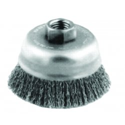 "Advance Brush - 82249 - 3-1/2"" Crimped Wire Cupbrush .014 Cs Wire 5/8-1"